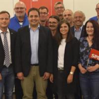 Die SPD Roth nominierte einstimmig ihre Liste für die Stadtratswahl 2020.