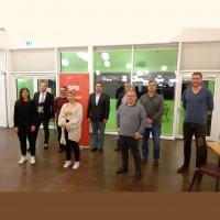 deutlich verjüngt: Vorstand der SPD Roth