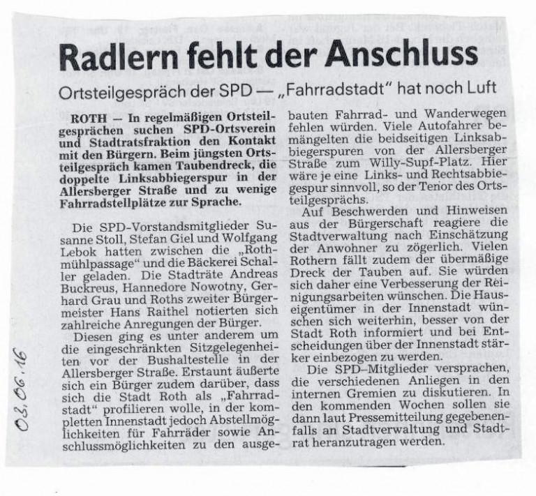 RadlerAnschluss